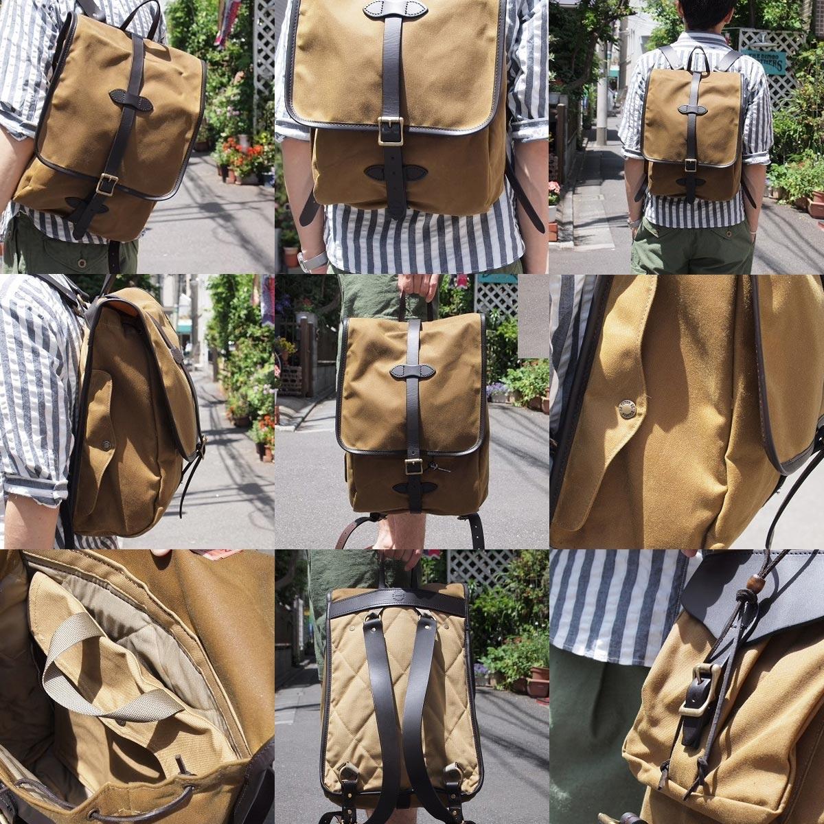 Filson Tin Cloth Backpack Dark Tan, der ultimative Begleiter für jeden Ihrer Ausflüge