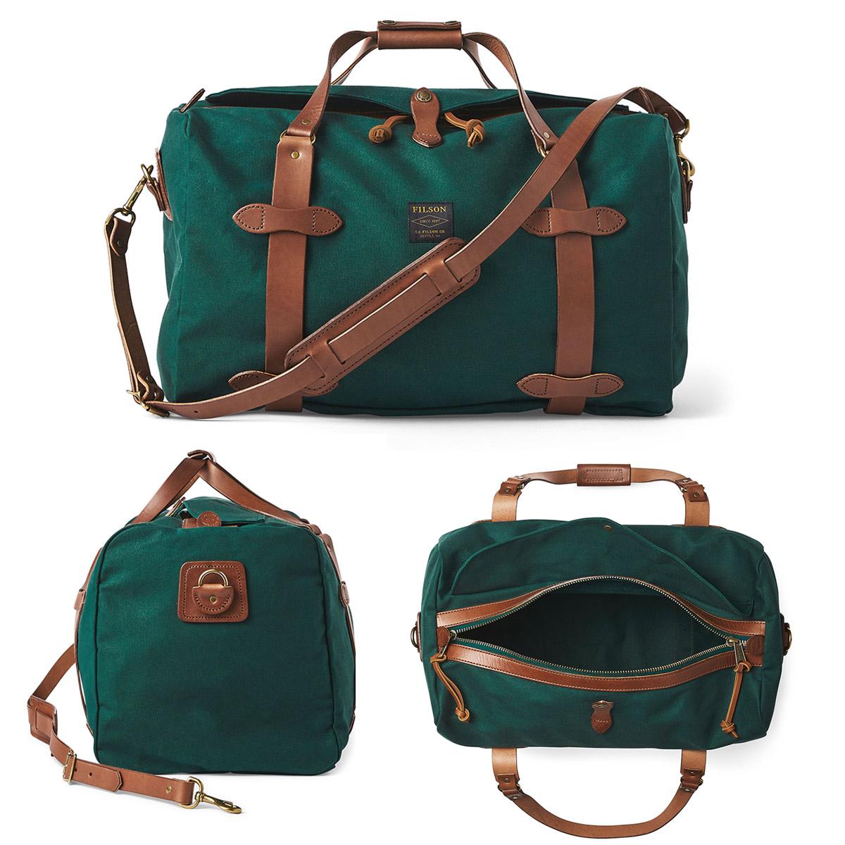 Filson Duffle Medium Hemlock, travelbag made for heavy-duty trips