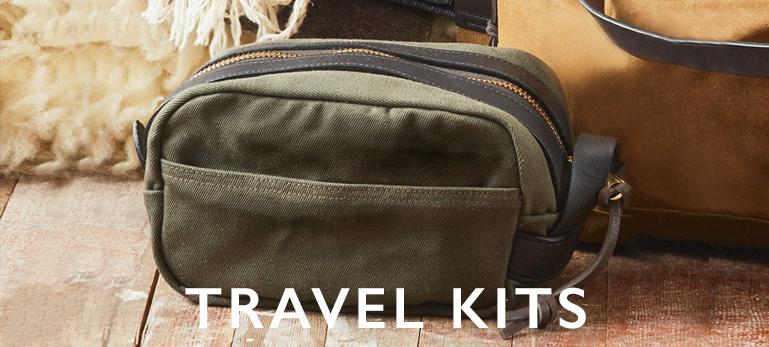 Filson Travel Kits