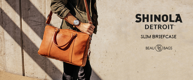 Shinola Slim Briefcase