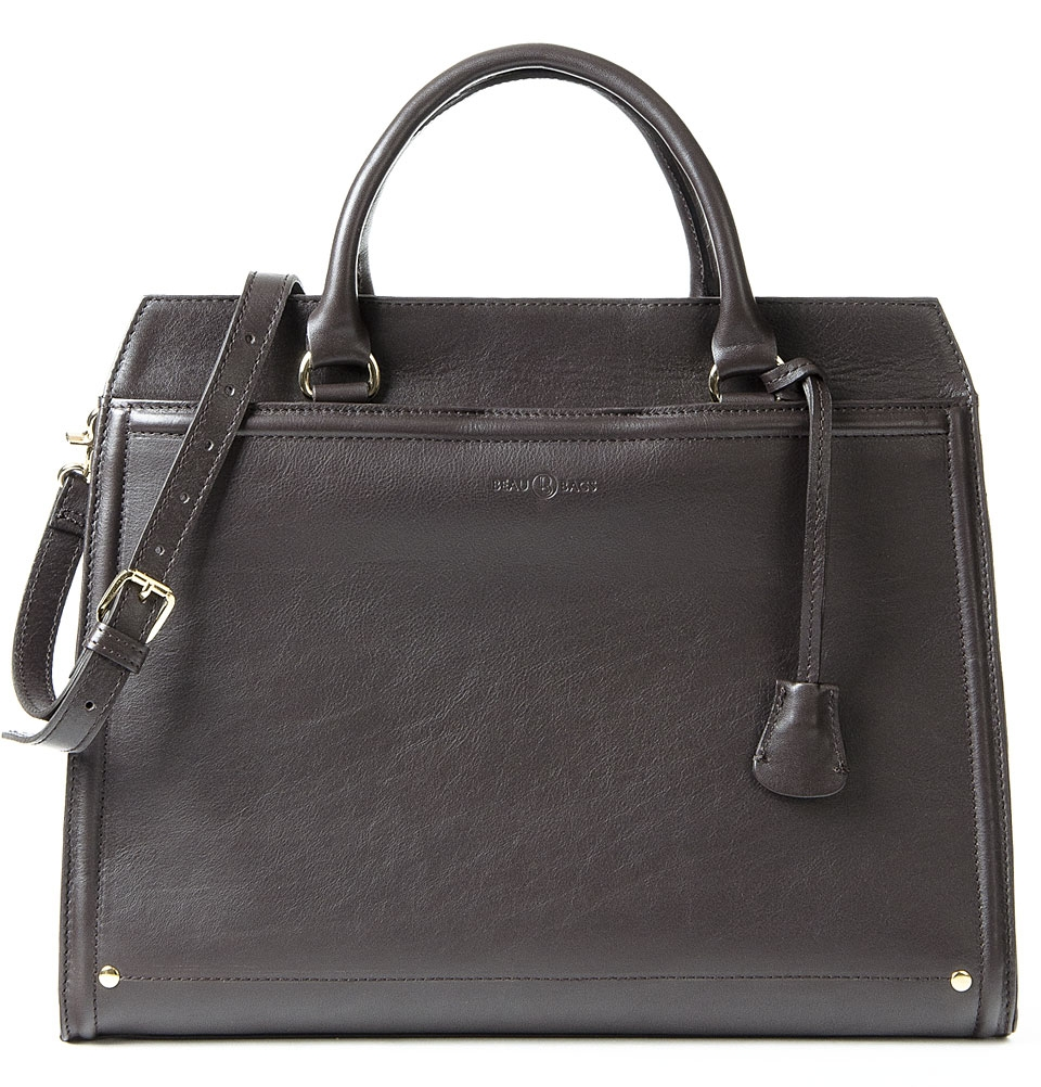 Women Laptop Bag Hannah 13 inch Dark Brown