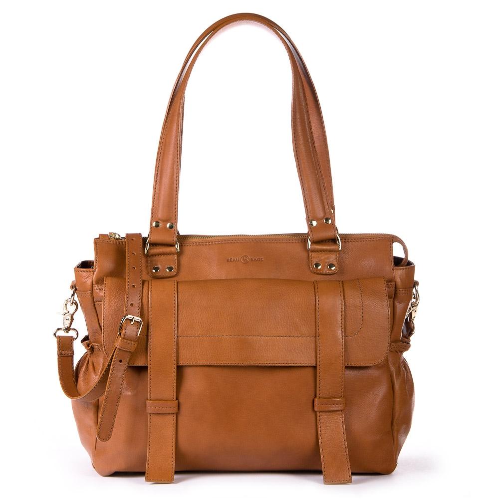 Women Laptop Bag Sarah Cognac