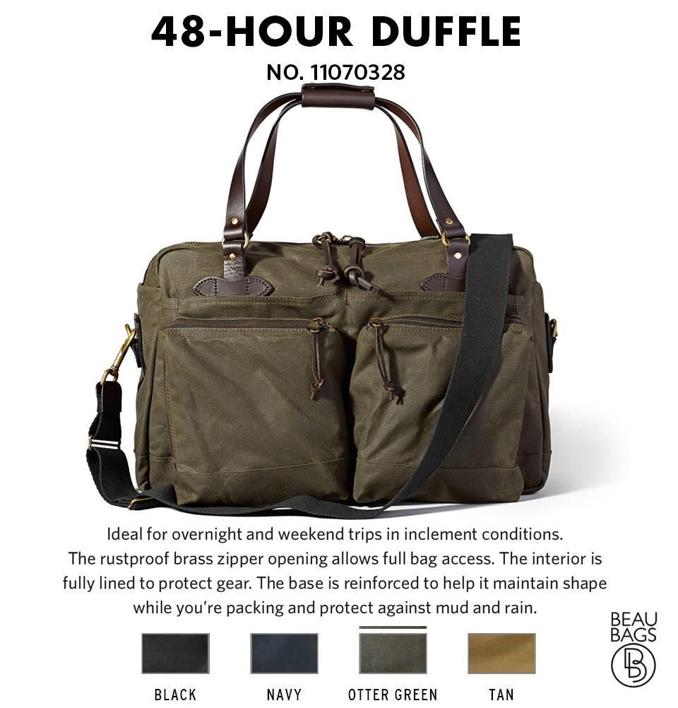 3194703e89 ... Filson 48-Hour Duffle 11070328 Otter Green color-swatch and description  ...