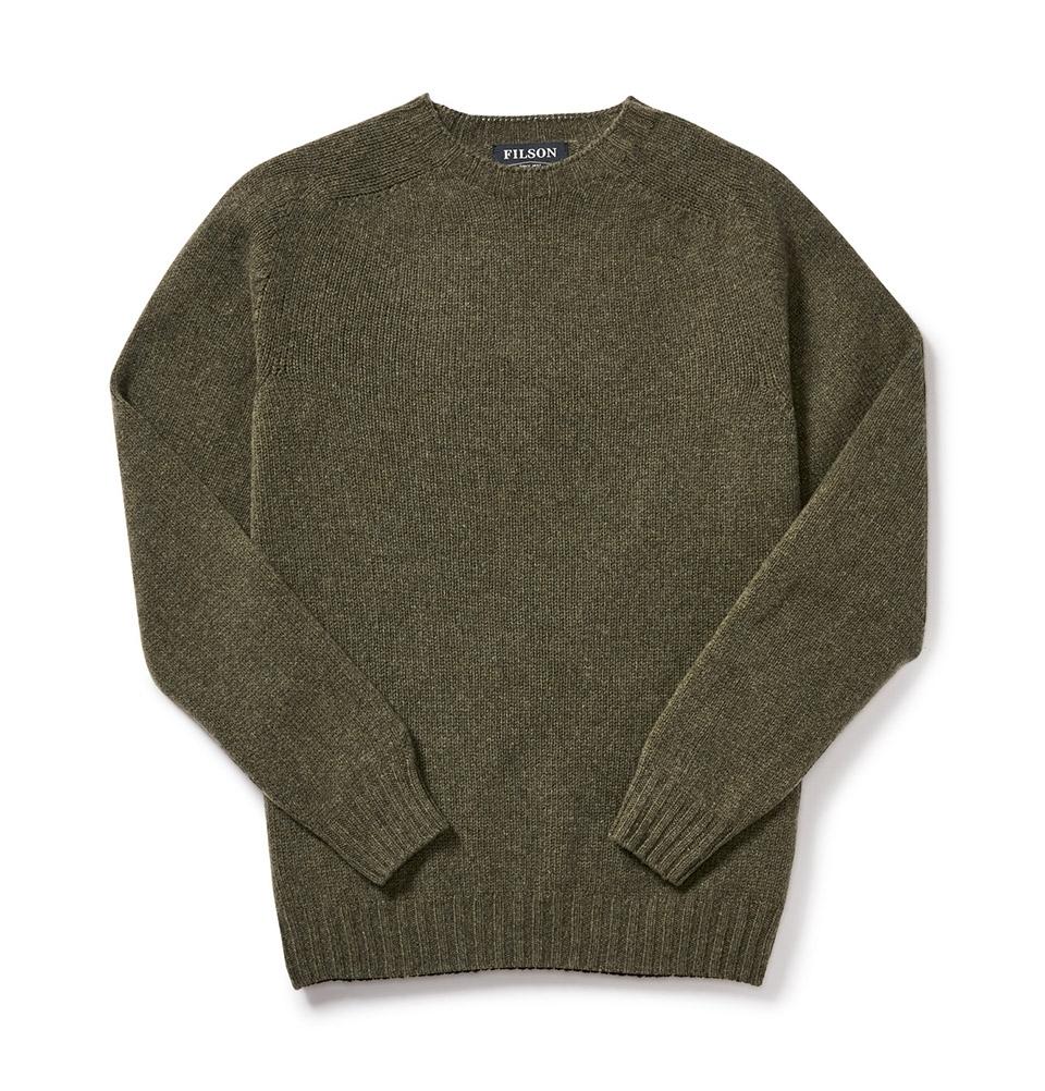 Filson 4gg Crewneck Sweater 20067988 LodenOlive