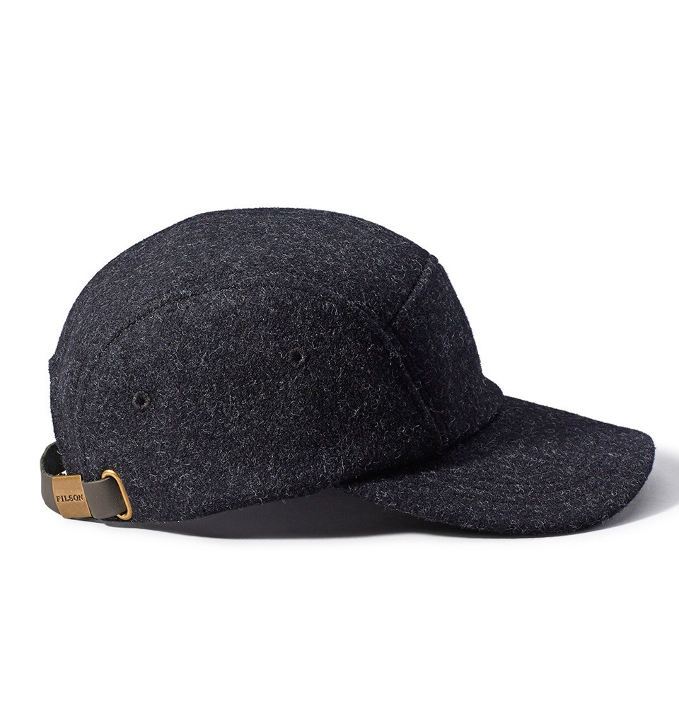 Filson 5-Panel Cap 11030236 Charcoal back 568b75dcfa0