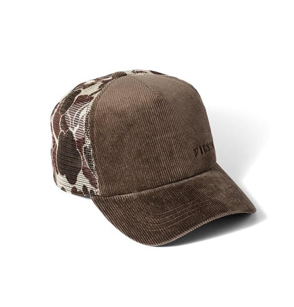 Filson Alcan Cord Mesh Cap 20051030 Buck