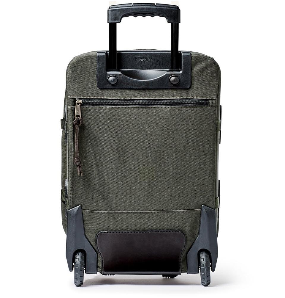 74d42fb6e4 ... Filson Ballistic Nylon Dryden 2-Wheel Rolling Carry-On Bag  20047728-Otter Green ...