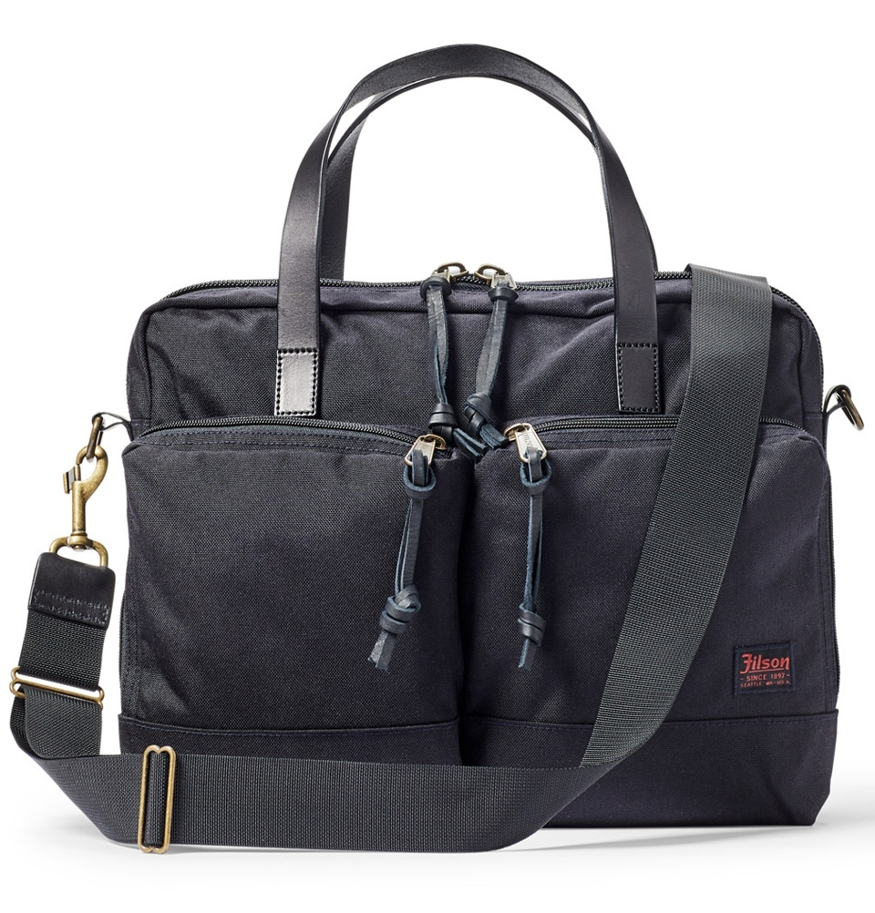 Filson Dryden Briefcase 20049878-Dark Navy