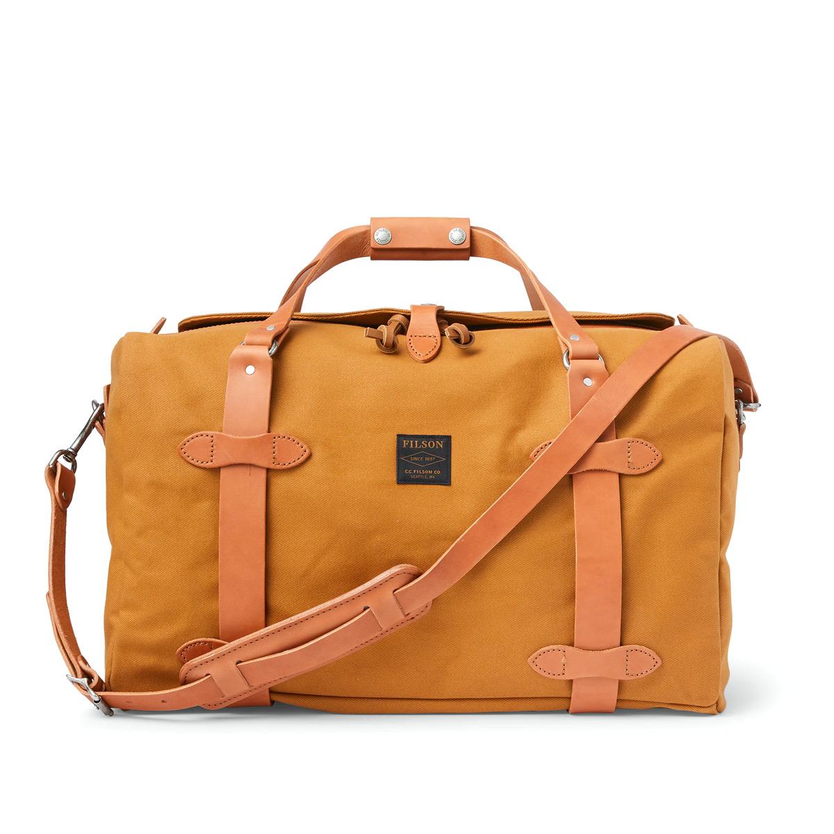 Filson Rugged Twill Duffle Bag Medium 20195531-Chessie Tan