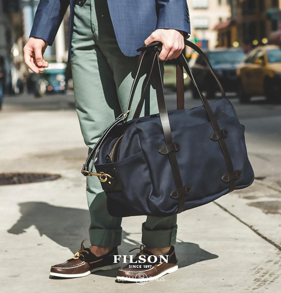 Filson Rugged Twill Duffle Bag Medium 11070325 Navy