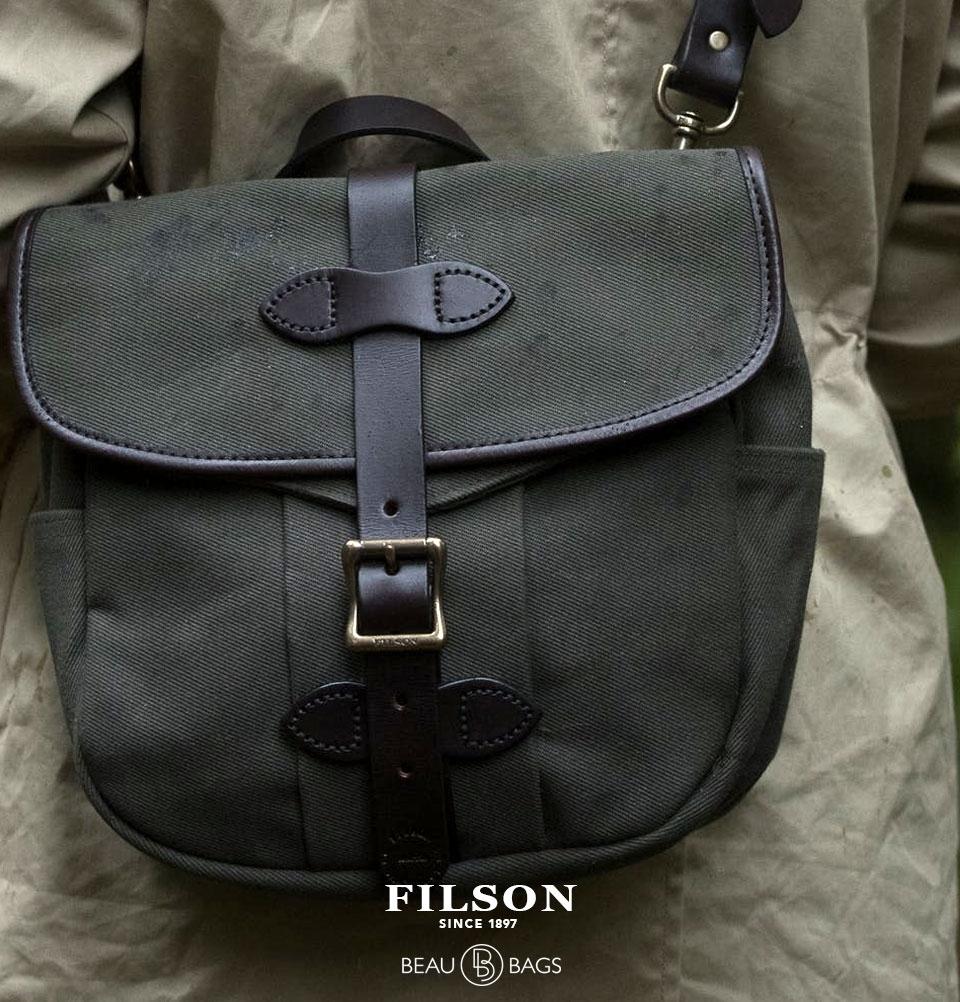 Filson Field Bag Small Otter Green