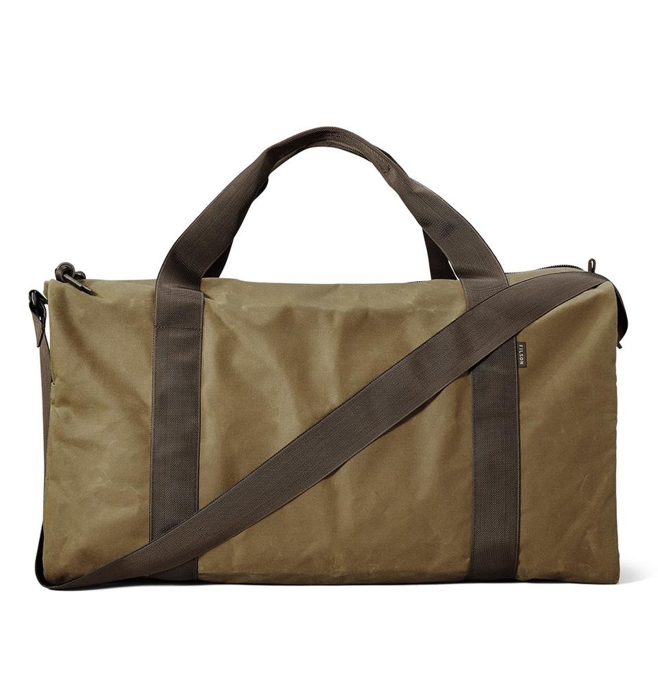 Filson Tin Cloth Field Duffle Bag Medium 11070015 Darktan Brown
