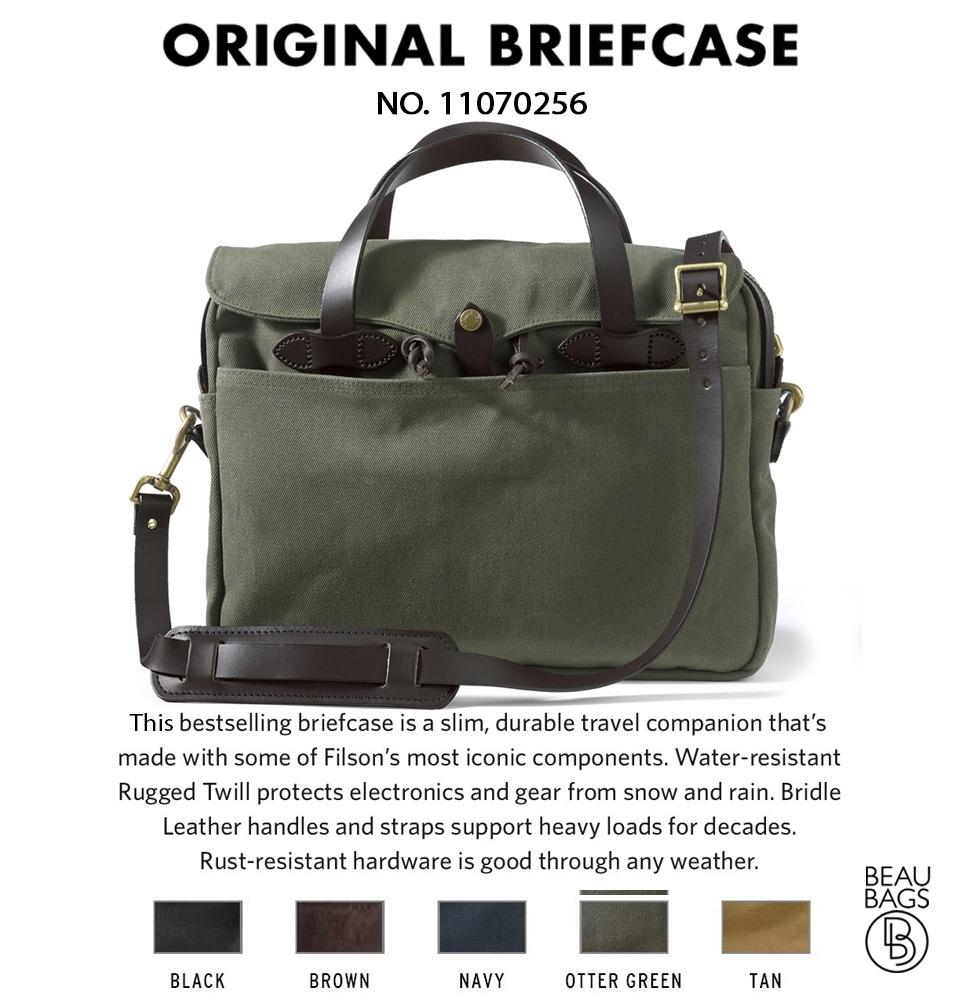 ... Filson Original Briefcase 11070256 Otter Green Color Swatch And  Description