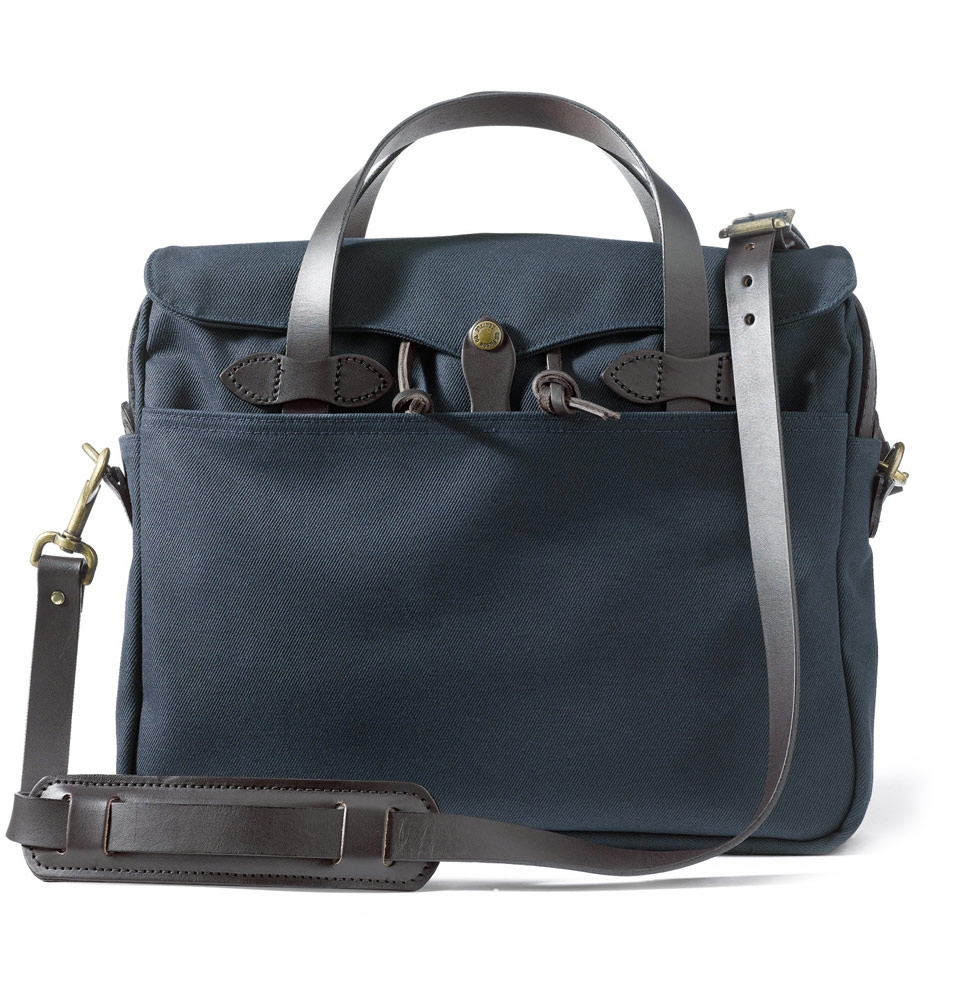 Filson Rugged Twill Original Briefcase 11070256-Navy