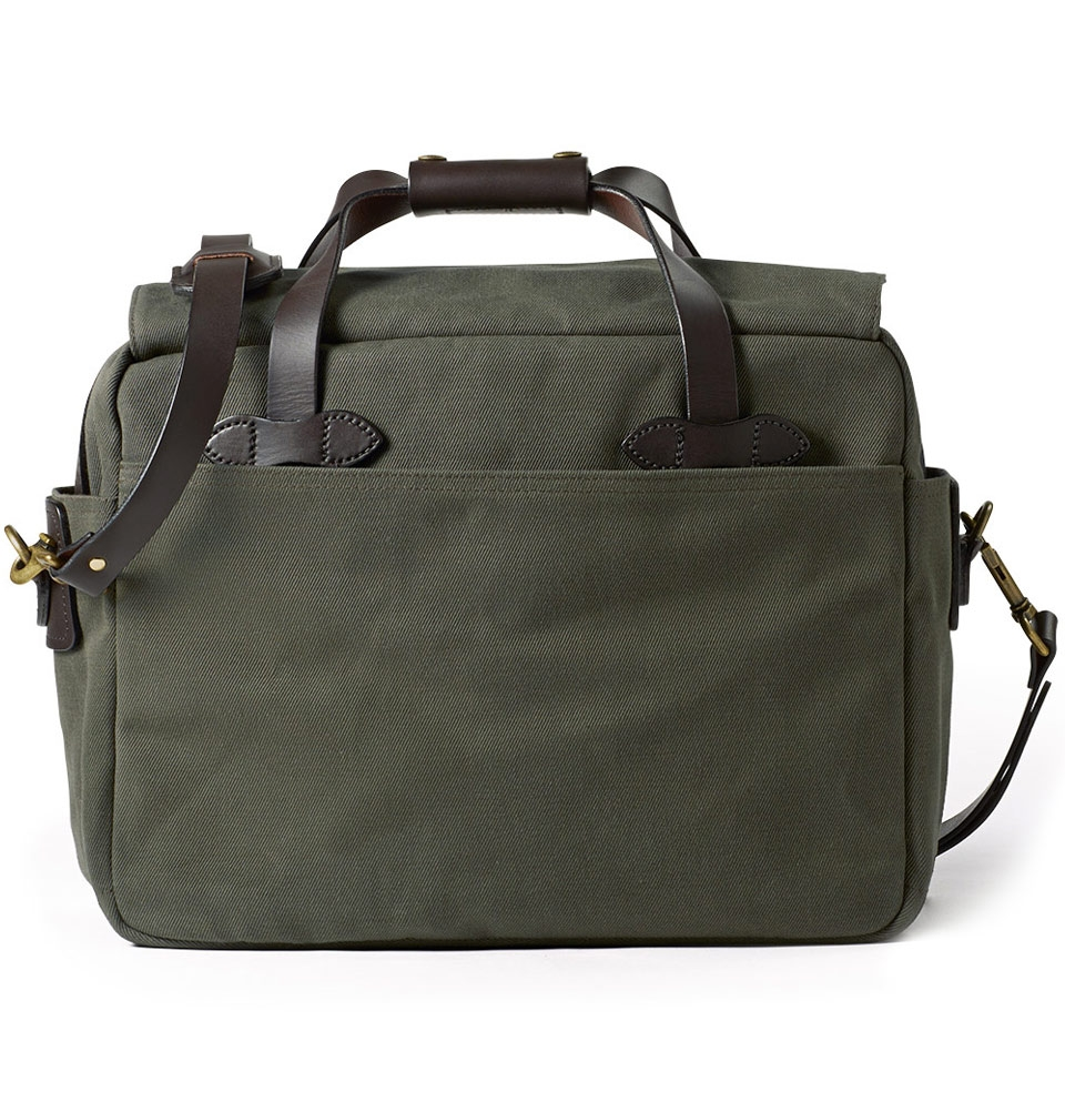 Filson Padded Computer Bag Laptop Briefcase Case  11070258 Otter Green 70258