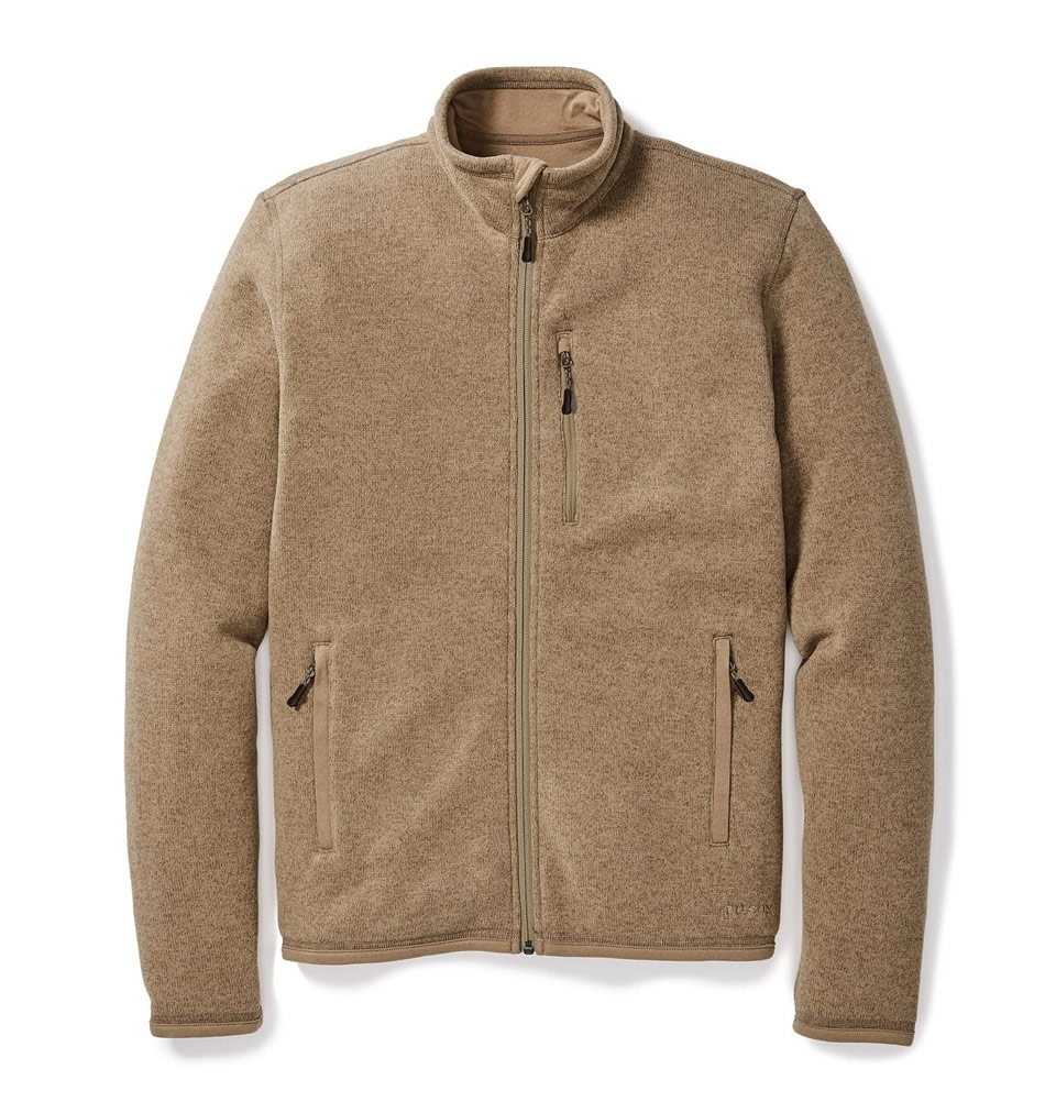 Filson Ridgeway Fleece Jacket Ochre