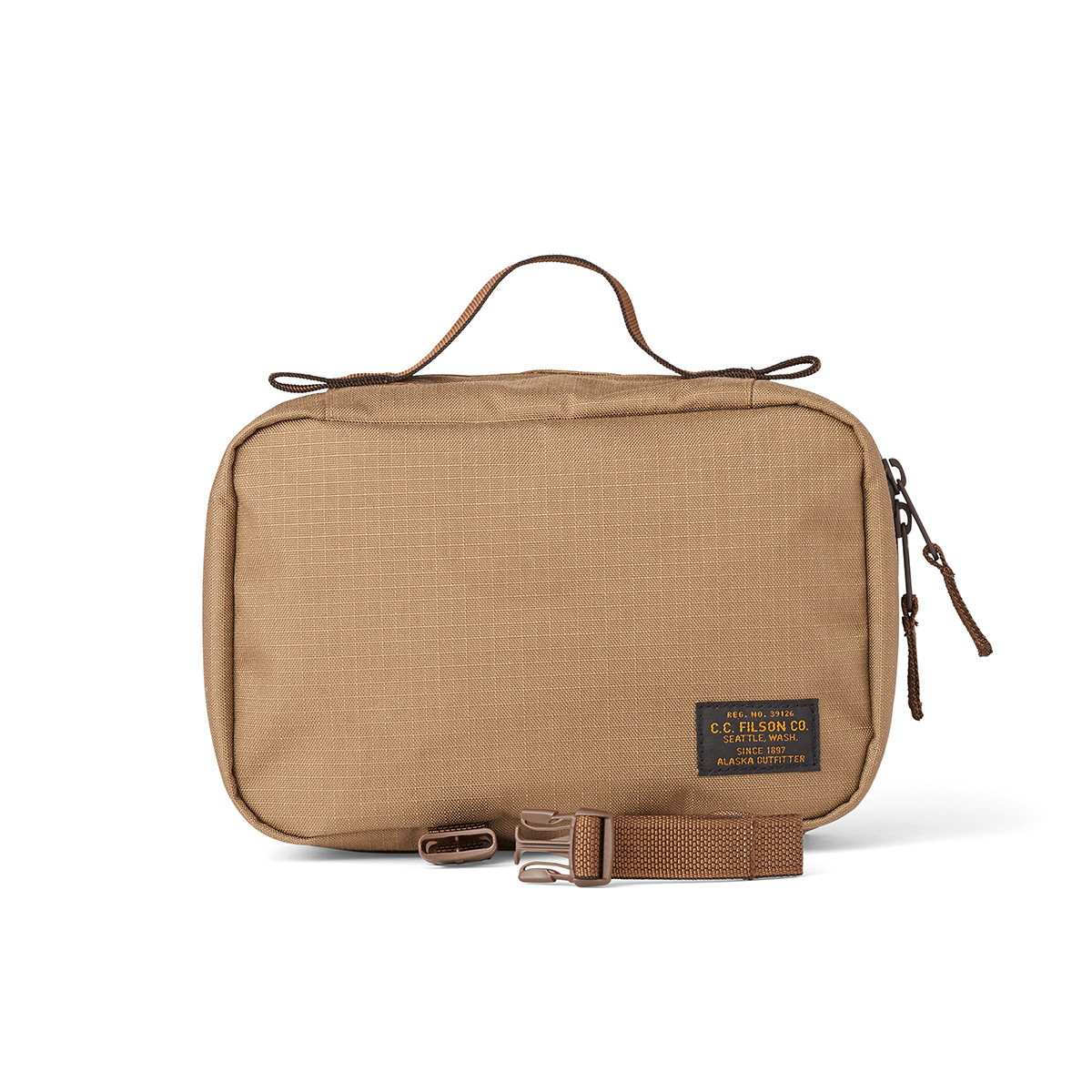 Filson Ripstop Nylon Travel Pack 20115936-Field Tan