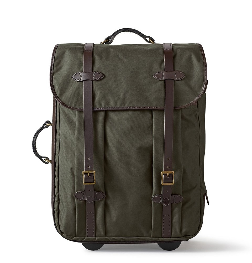 Filson Rugged Twill Rolling Check-In Bag 11070374-Otter Green