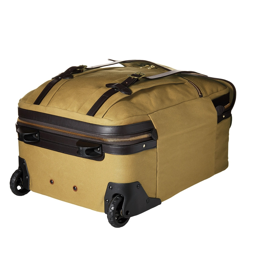 c46dcac7ad9 Filson Rolling Check-In Bag-Medium Tan, Rolling Travel bag with ...