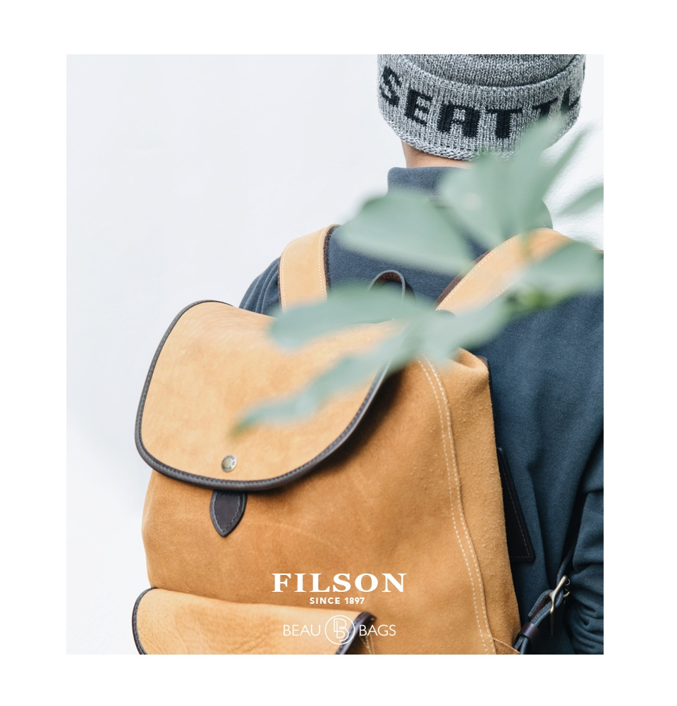 filson rugged suede backpack 11070435 saddle  will be the