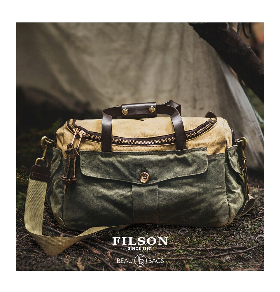 newest collection 79d78 07194 filson heritage sportsman bag tan tan ... 1655ae893a