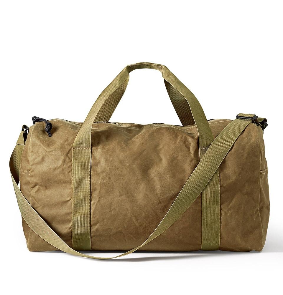 Filson Tin Cloth Field Duffle Bag Medium 11070015-Dark Tan