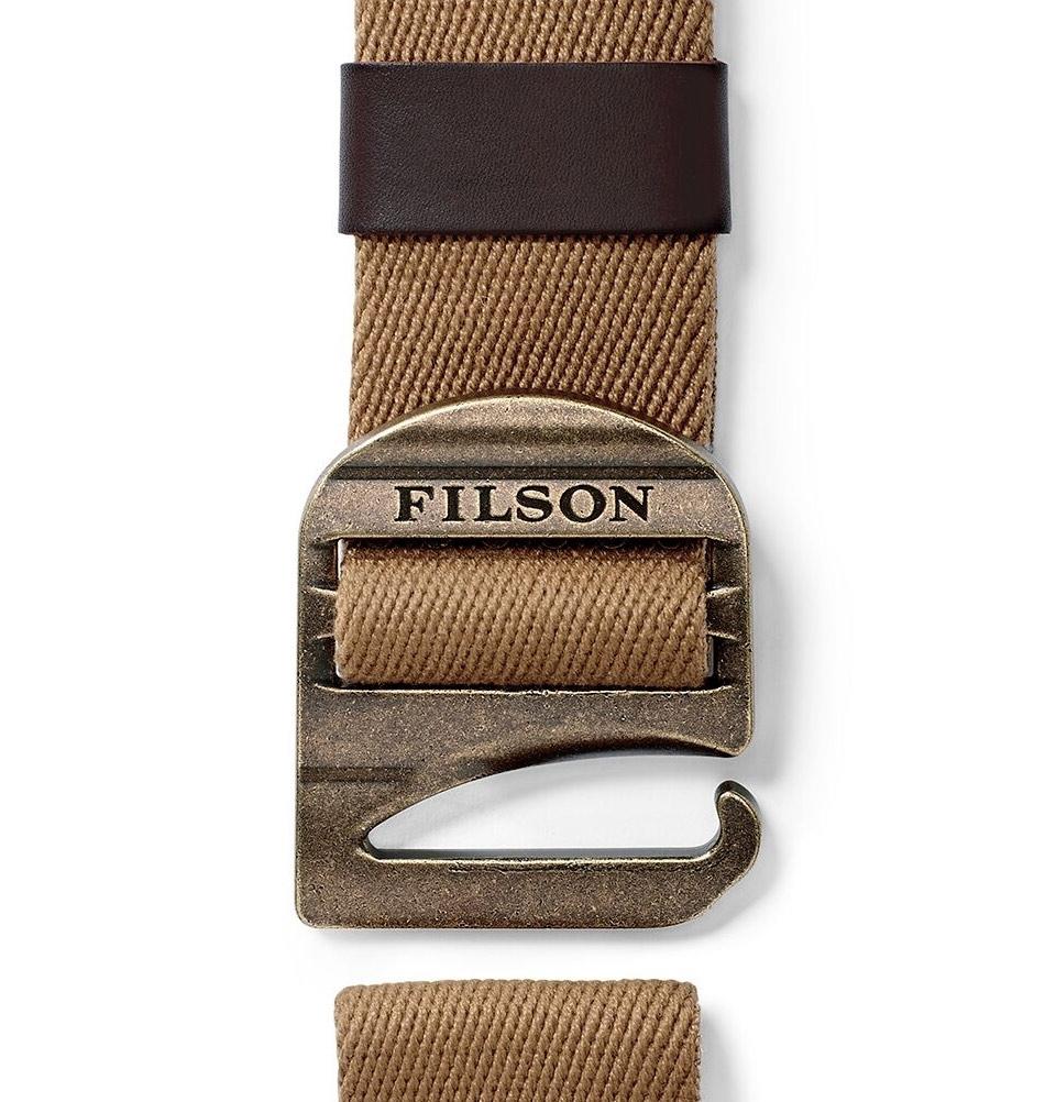 Filson Togiak Belt 20052229-Tan