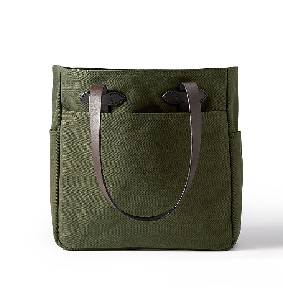 Filson Rugged Twill Tote Bag 11070260-Otter Green