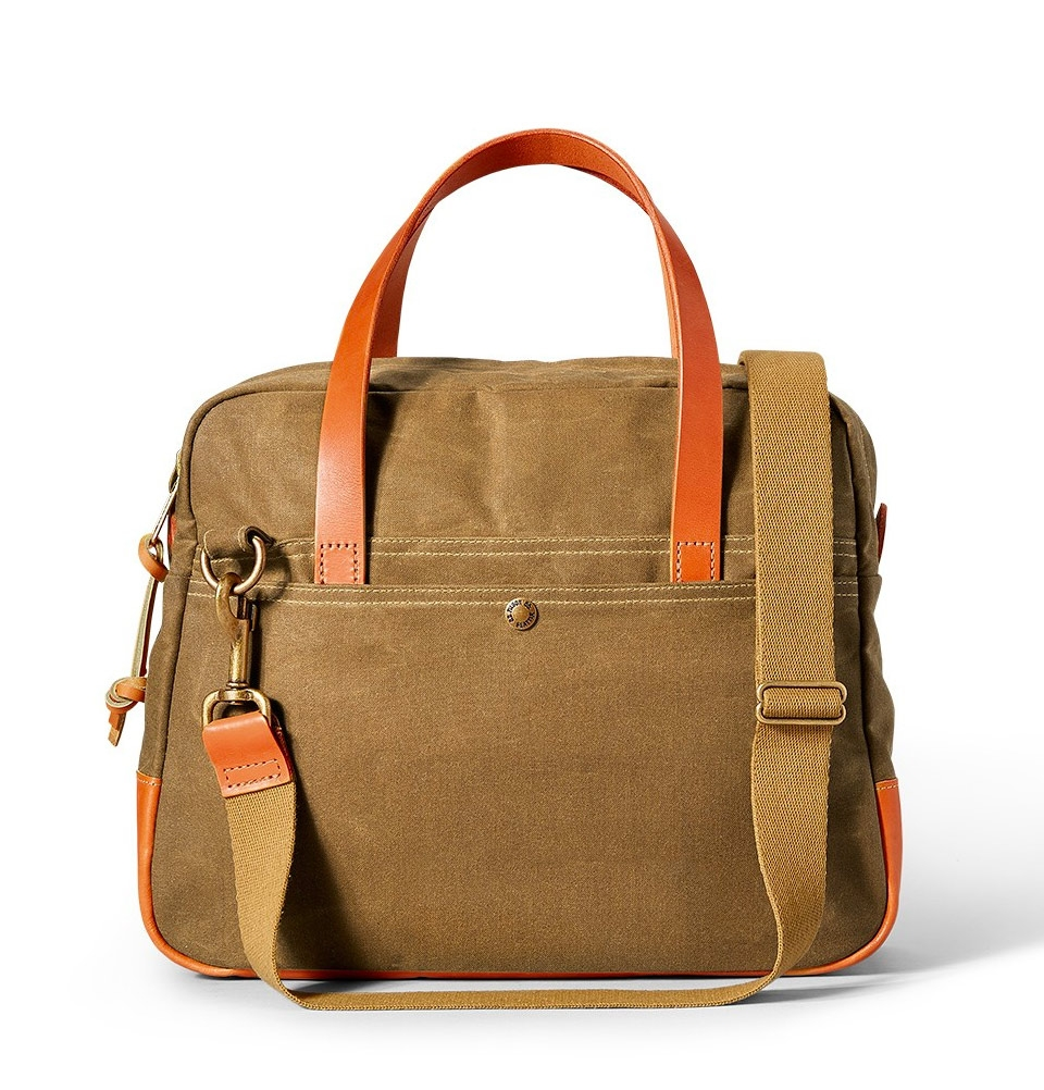 Filson Travel Bag Tan | perfect travel bag with Bridle Leather ...