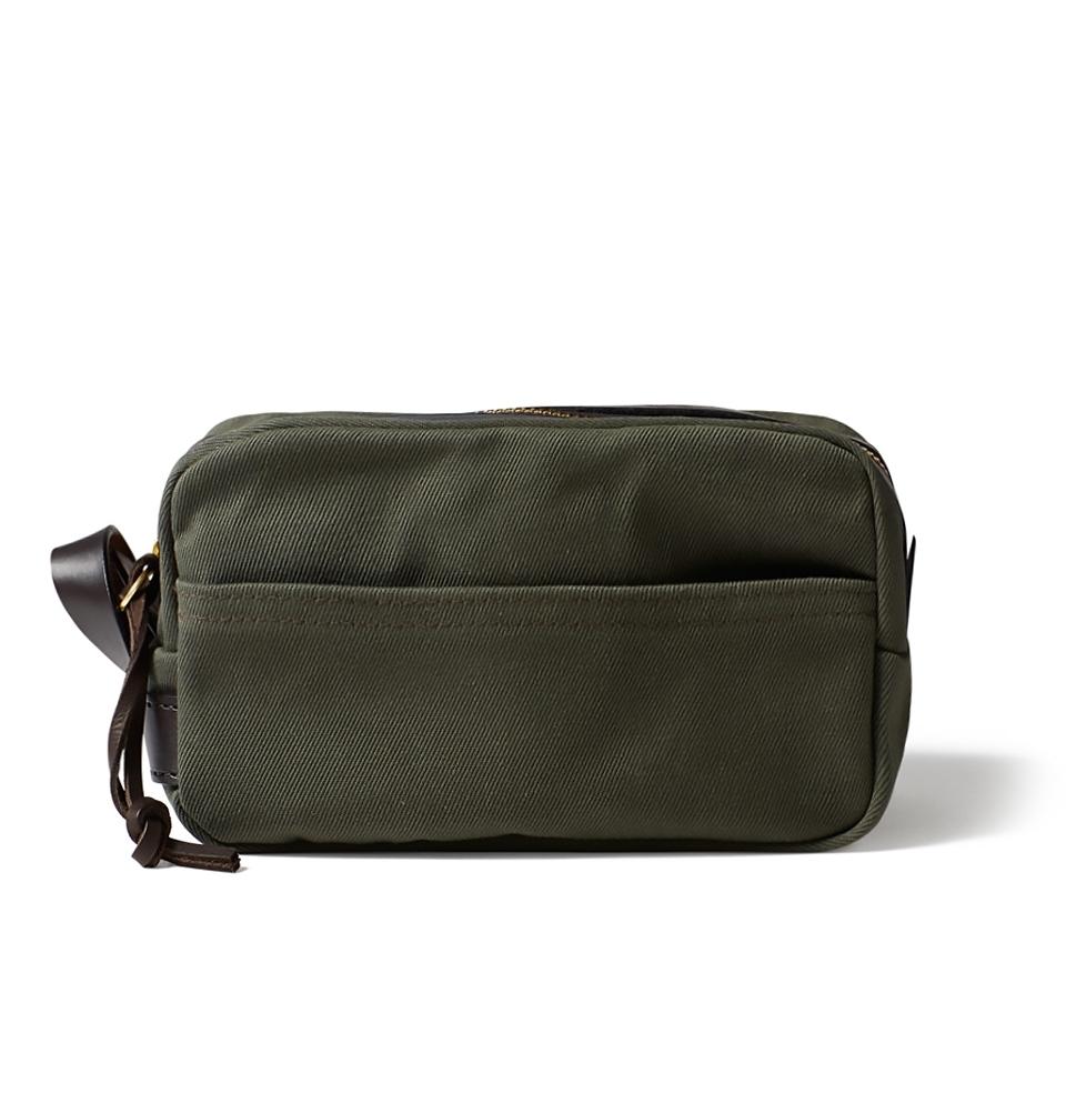 Filson Rugged Twill Travel Kit 11070218-Otter Green