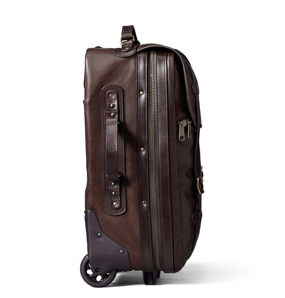 236f257e1eb ... Filson Weatherproof Rolling Carry-On Bag-Medium Leather 11070439 ...