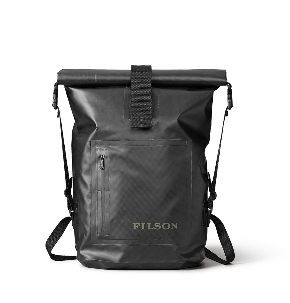 filson dry day backpack black water and wear resistant. Black Bedroom Furniture Sets. Home Design Ideas