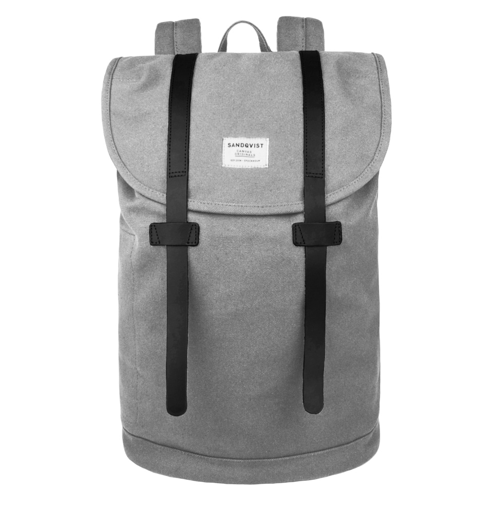 Sandqvist Stig large backpack Grey