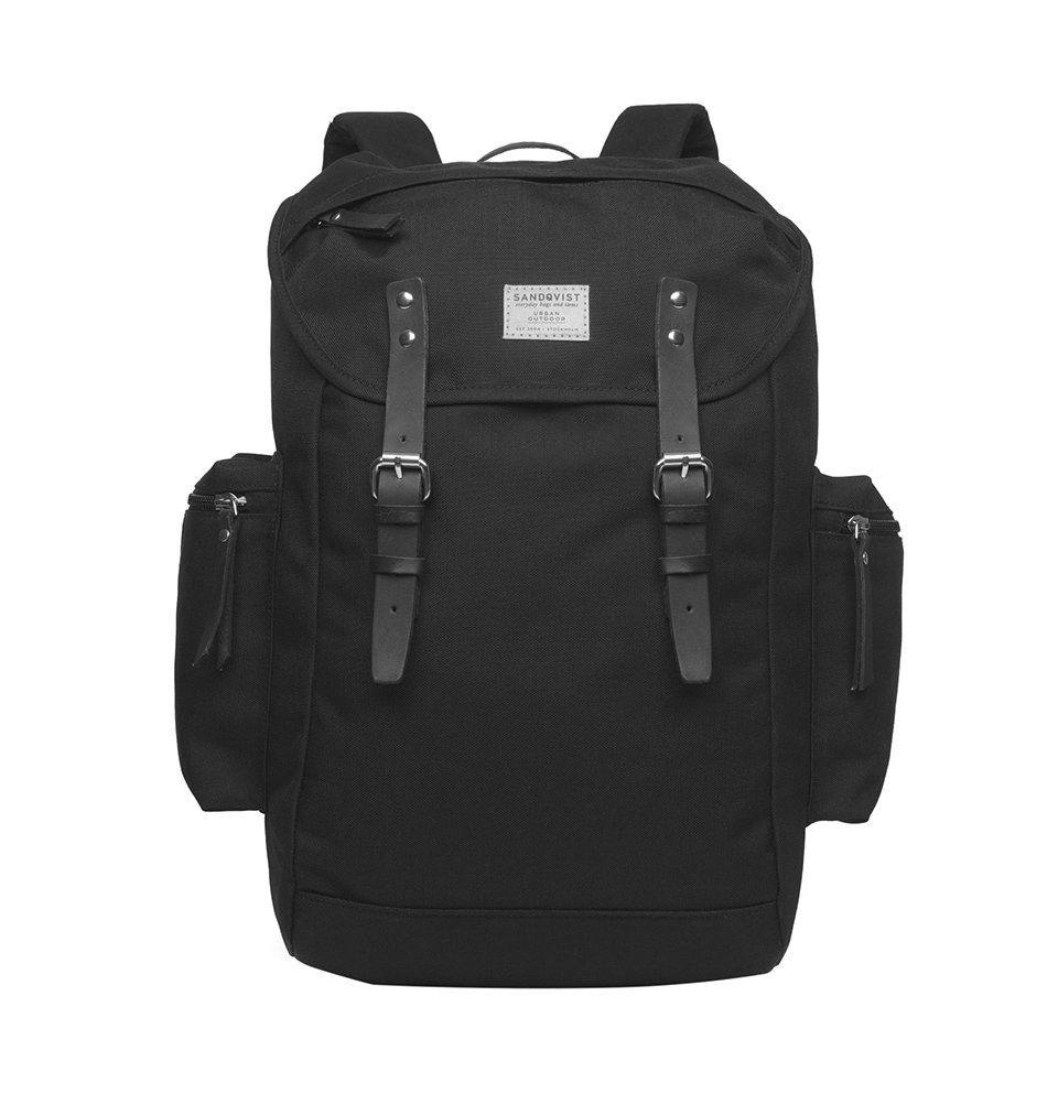 Sandqvist Lars-Gordan backpack Black