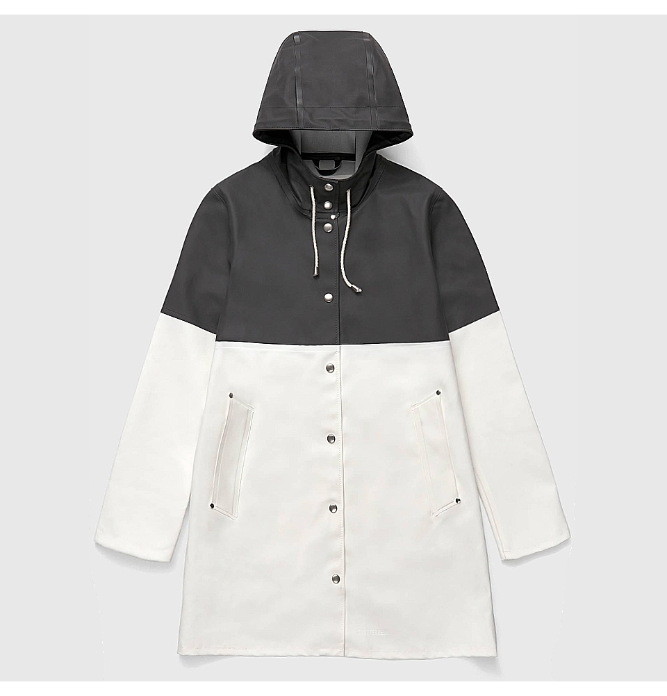 Stutterheim Stockholm Blocked Black White