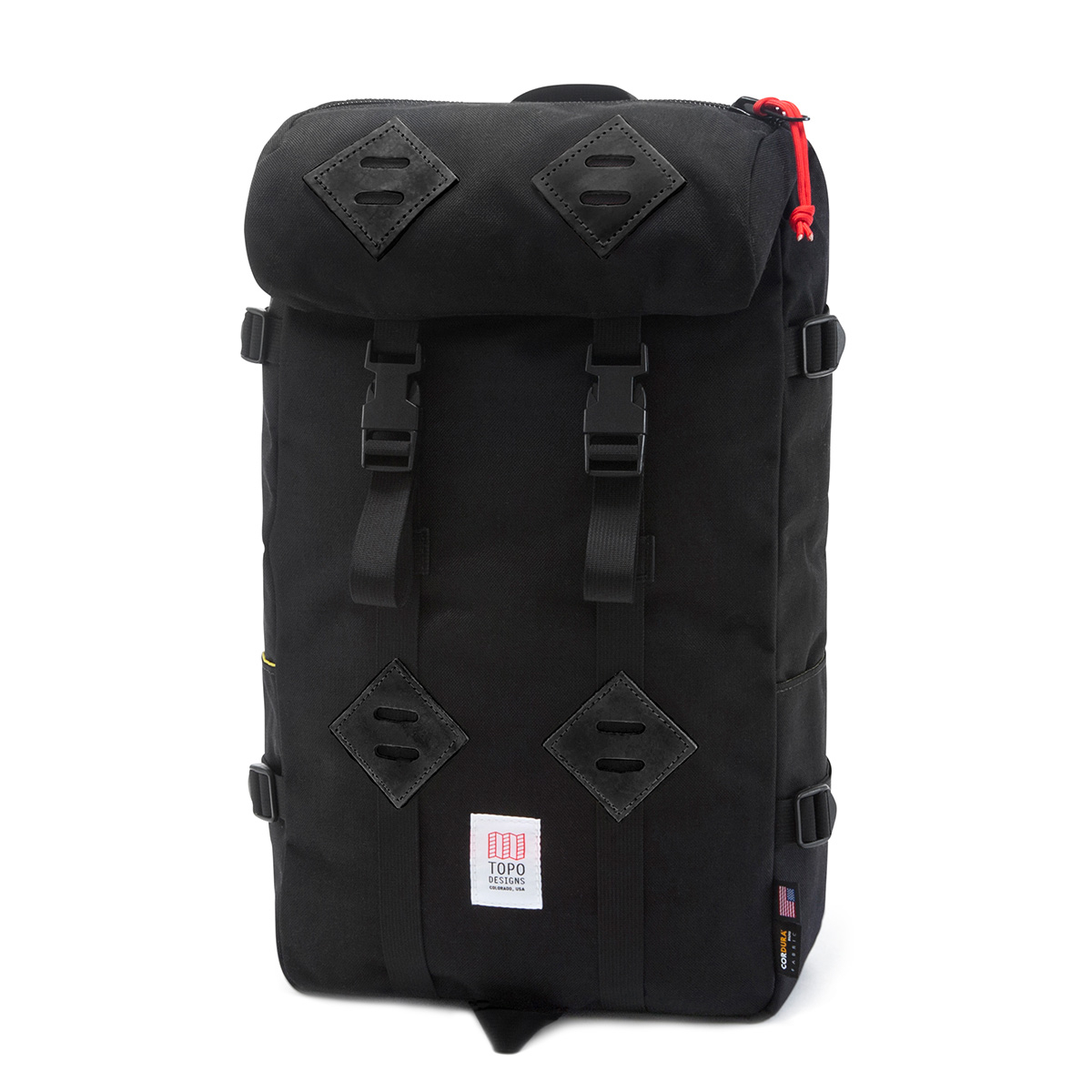 Topo Designs Klettersack Black/Black