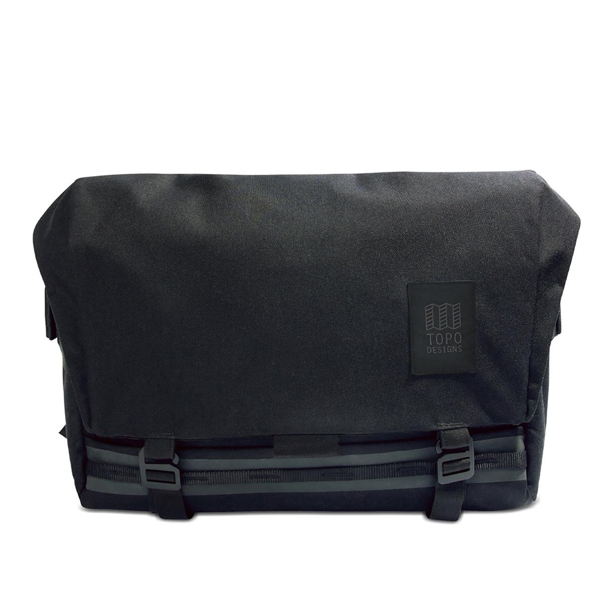 Topo Designs Messenger Bag Black