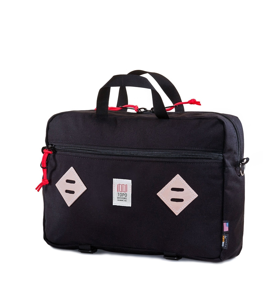 Topo Designs Mountain Briefcase Black