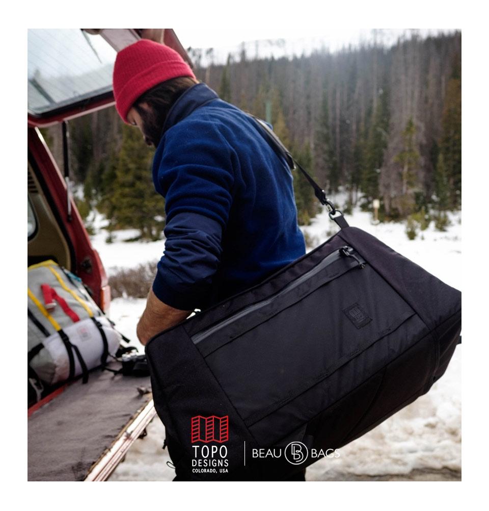 d398b0b305b5 Topo Designs Mountain Duffel Silver. The ideal haul bag