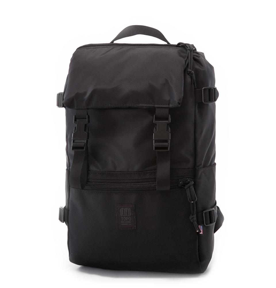 Topo Designs Rover Pack Ballistic Black