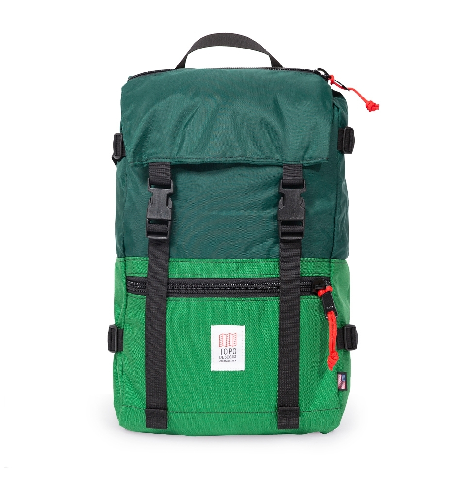 5060212ba8 ... Topo Designs Rover Pack Forest Kelly front ...