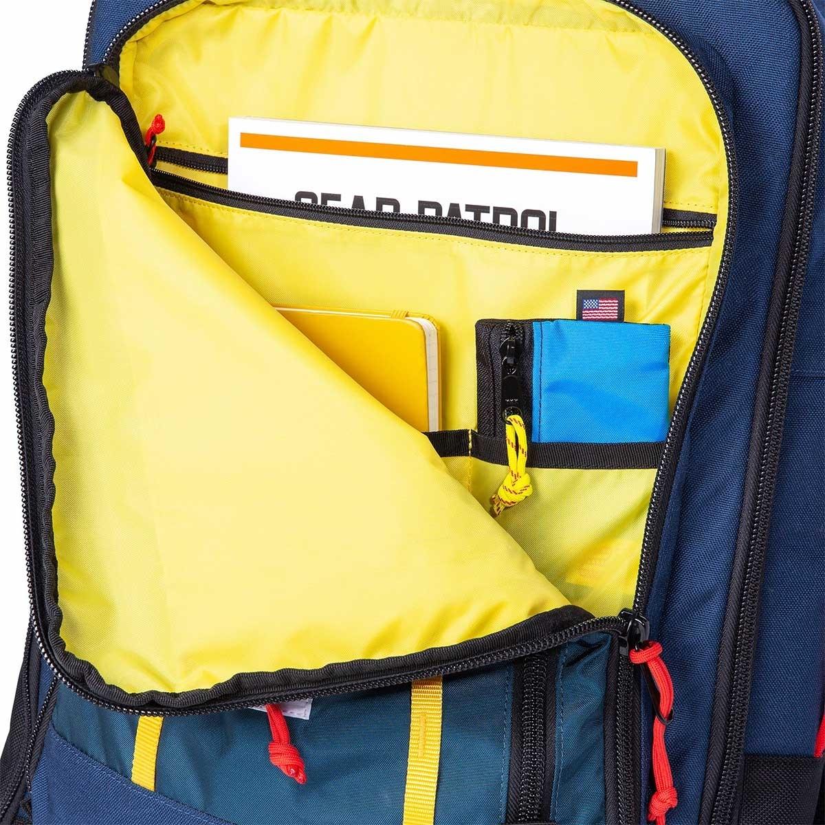 Topo Designs Travel Bag 40L Navy, the most versatile travel bag, guaranteed