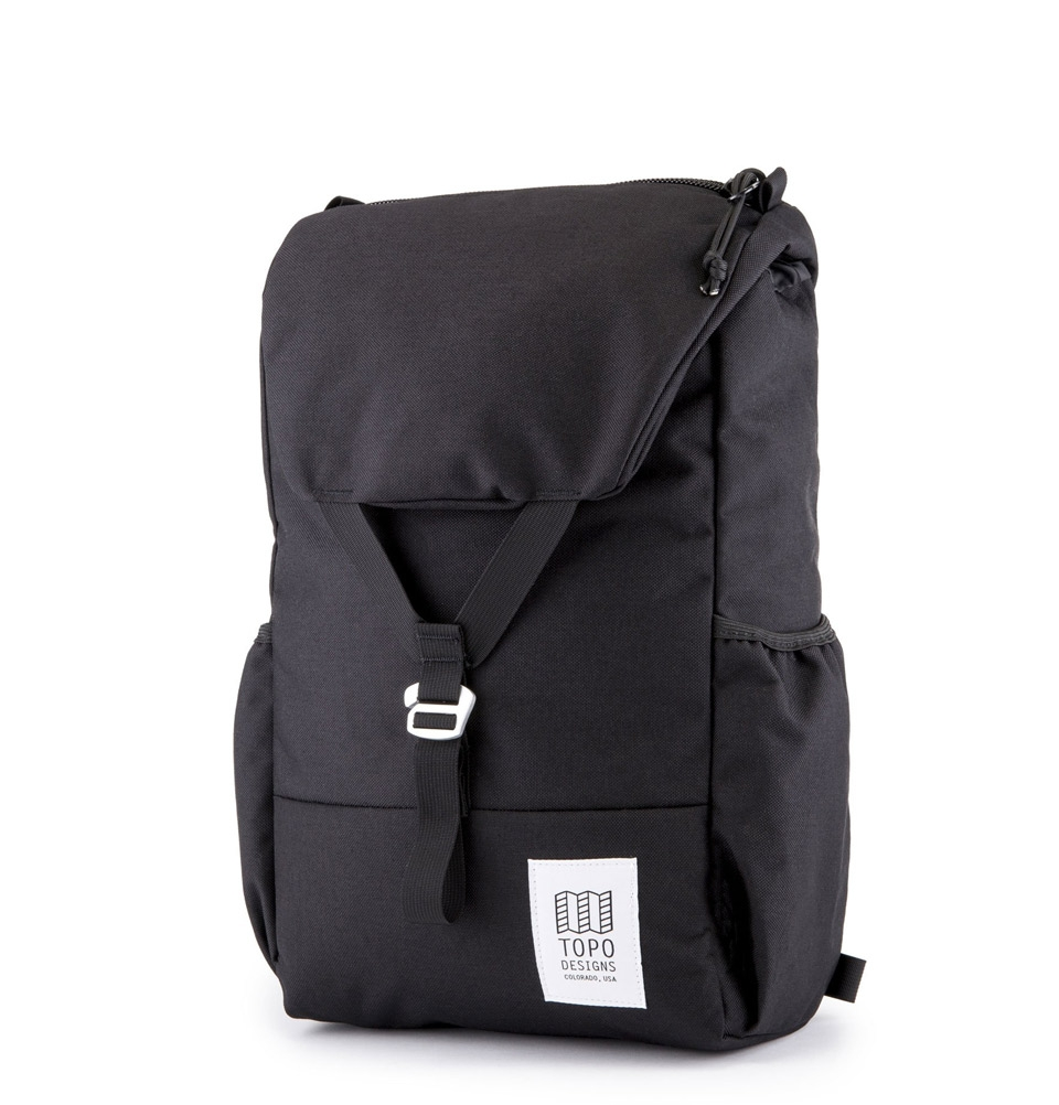 Topo Designs Y-Pack Backpack Black