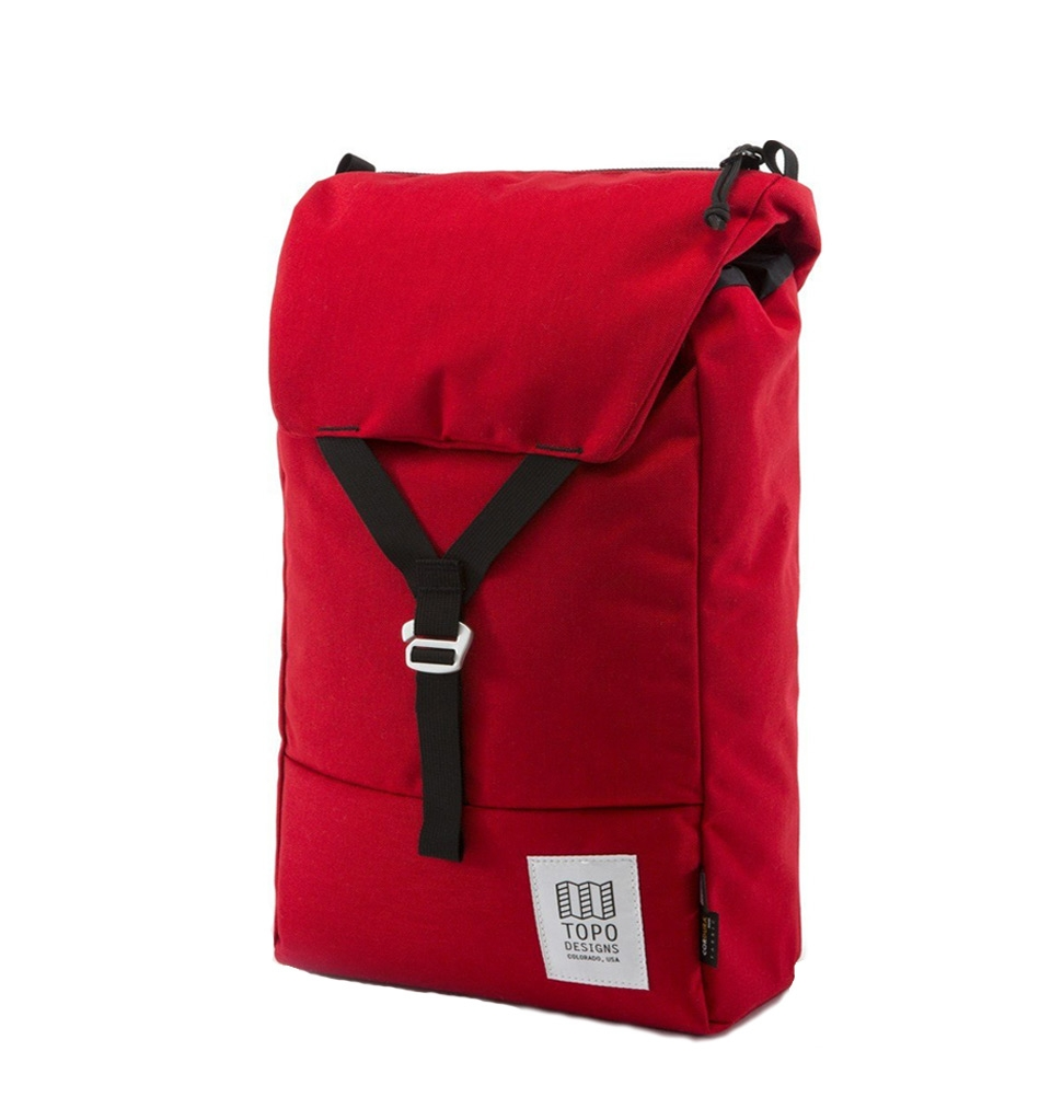 Topo Designs Y-Pack Backpack Red