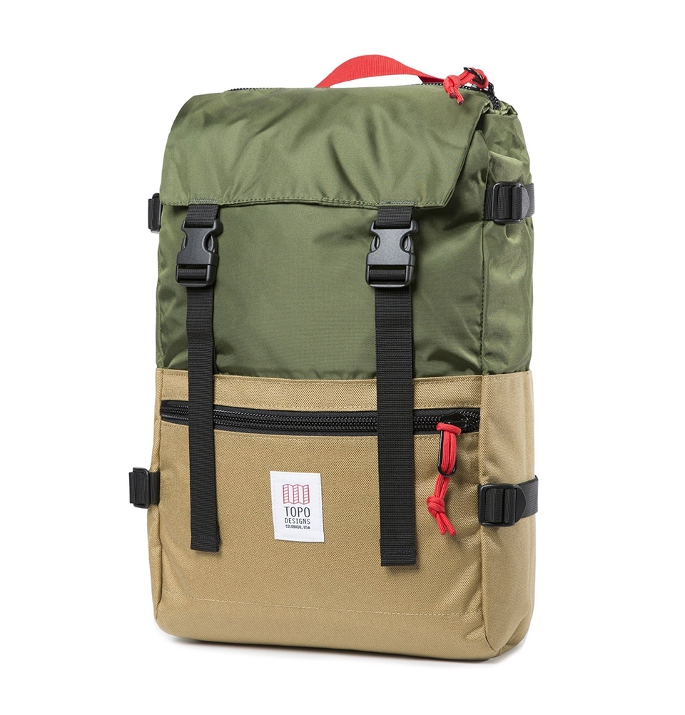 b0f42e31301d Topo Designs Rover Pack Olive Khaki, strong and timeless pack with great  functionality