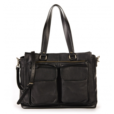 Women Laptop Bag Olivia Black