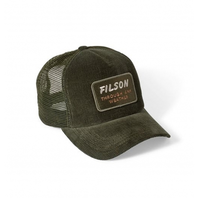 Filson Alcan Cord Mesh Cap Moss 20051030