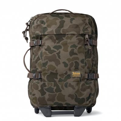 Filson Dryden 2-Wheel Rolling Carry-On Bag Dark Shrub Camo