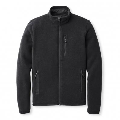 Filson Ridgeway Fleece Jacket Black front