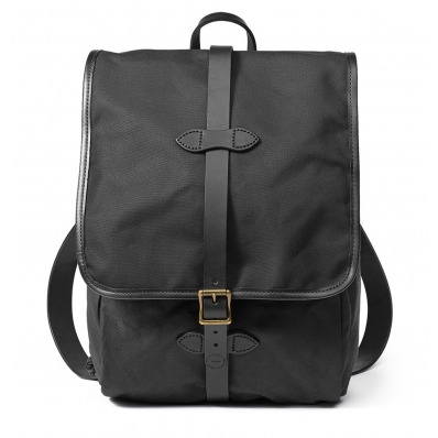 Filson Tin Cloth Backpack 11070017 Black